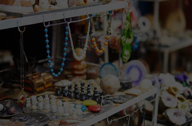 Bijoux originaires du Maroc